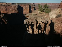 Photo by elki |  Canyonlands canyon, ghost