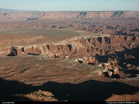 Canyonlands : Overview of the canyon