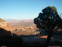 Canyonlands national park: Overview of the canyon