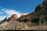 Great weather in Zion