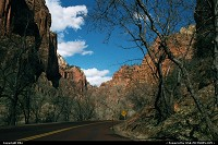 Photo by elki |  Zion road, rock