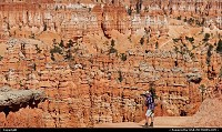 Bryce Canyon, , UT, Working on a photoshoot in Bryce Canyon, Utah.