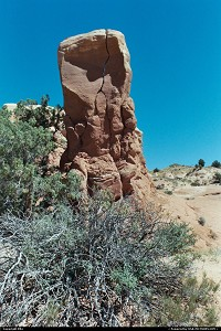 Photo by elki | Escalante  arche, rock