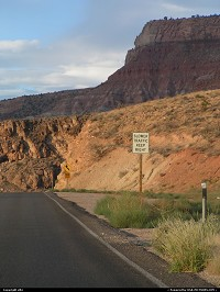 Hors de la ville : On the way to zion national park
