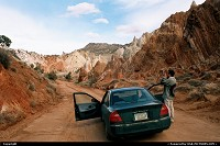 Utah, Little trip into time here, so to speak, back in 2001. Digital cameras weren't as good as they are today but it not too bad though. Yes, that poor Mirage tripped from Florida to Cottonwood unpaved road in Utah. We indeed drove it then to Vgeas, I think, before grabing something more suitable for the wide wild west :)