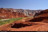 Not in a City : The valley of the San Juan river, around Mexican Hat.