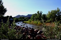 The Virgin River, close to Zion NP