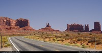 Not in a City : Around Monument Valley, on the road 163.