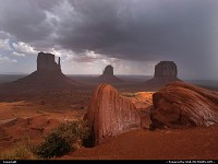 Not in a City : MONUMENT VALLEY NP