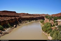 Not in a City : The San Juan river at Mexican Hat.