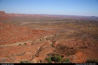 Not in a City : enjoy the view from the Mocky Dugway, with the Valley of the Gods in the distance...