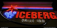 Saint George : Iceberg drive inn (another neon sign for Raphaël !)