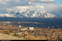 Photo by LoneStarMike | Salt Lake City  mountains, earial
