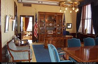 Salt Lake City : Governor's office in the Utah State Capitol. The front office is the