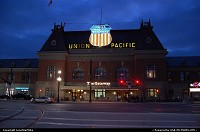 Photo by LoneStarMike | Salt Lake City  depot, neon