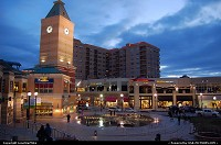 Photo by LoneStarMike | Salt Lake City  downtown, retail, clock, tower,