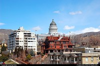 Photo by LoneStarMike | Salt Lake City  downtown, capitol