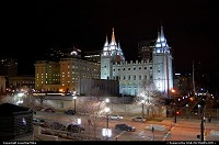 Salt Lake City : Mormon Temple in downtown Salt Lake City
