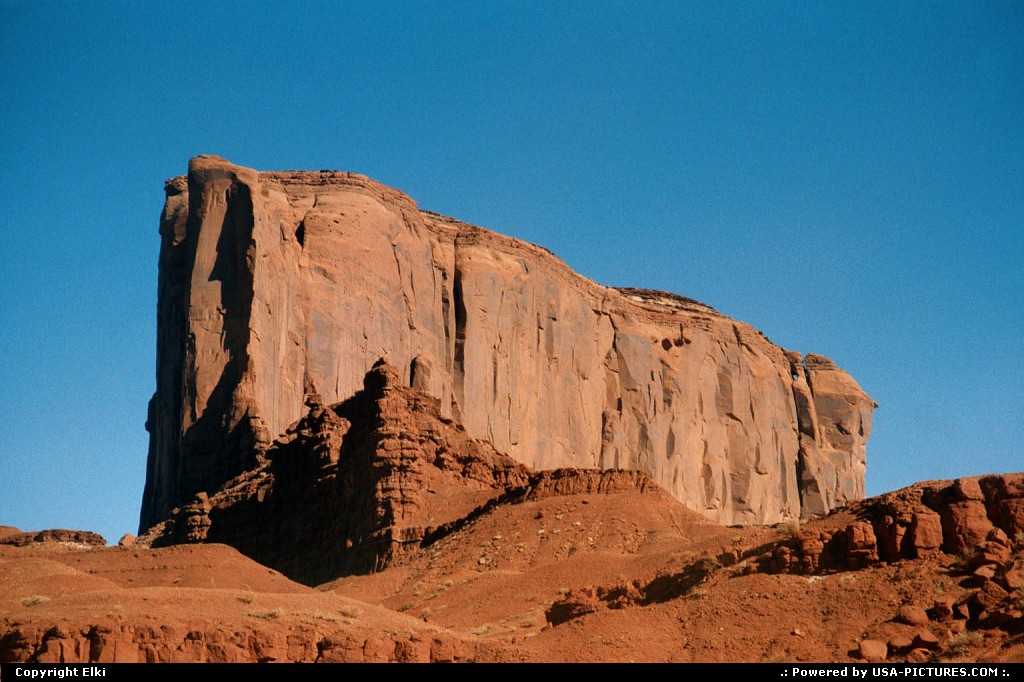 Picture by elki:  Utah   Monument Valley