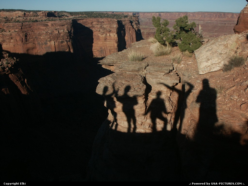 Picture by elki:  Utah Canyonlands  canyon, ghost