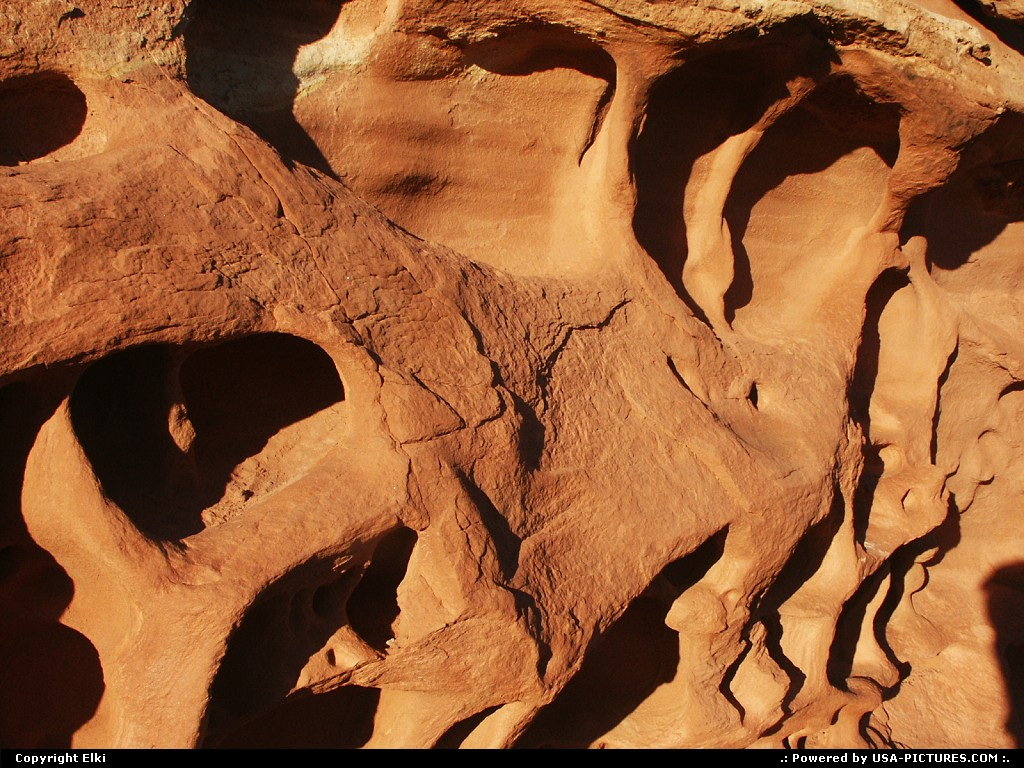 Picture by elki:  Utah Canyonlands  erosion, rock