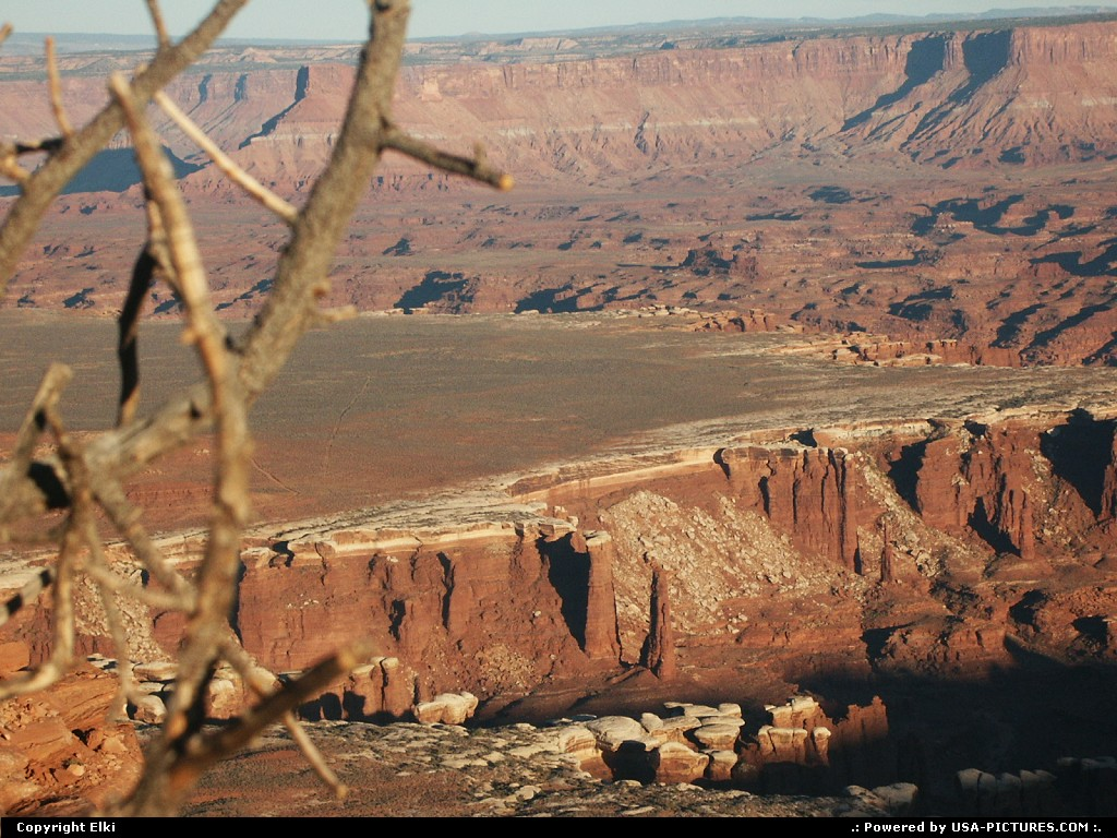 Picture by elki:  Utah Canyonlands  canyon