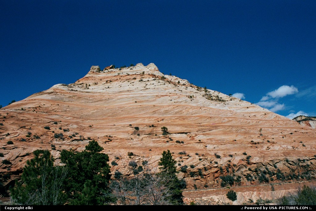 Picture by elki:  Utah Zion  rock, trail, hike, hiking