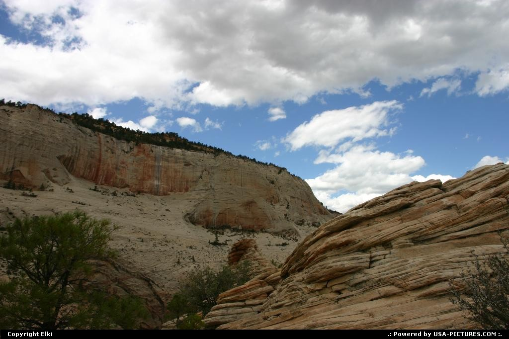 Picture by elki:  Utah Zion  rock, rocks