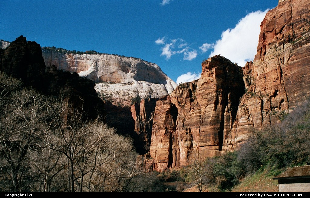 Picture by elki:  Utah Zion  trail, trails, hike, hiking