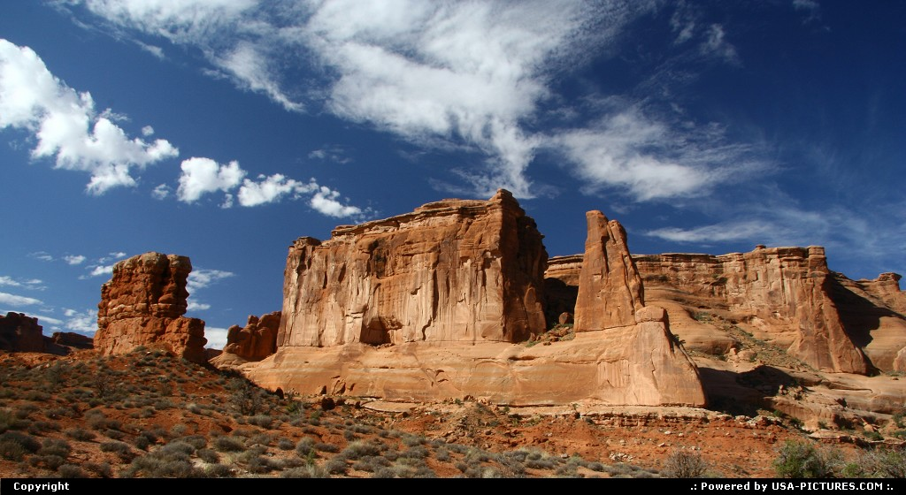 Picture by airtrainer:  Utah Arches Park Avenue arches