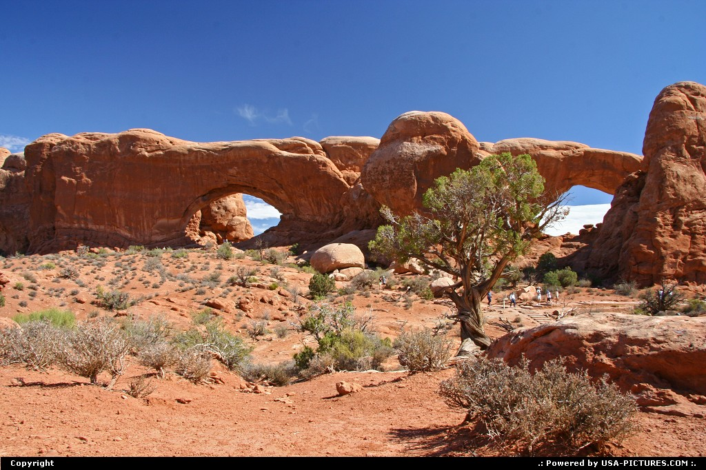 Picture by airtrainer:  Utah Arches  arches