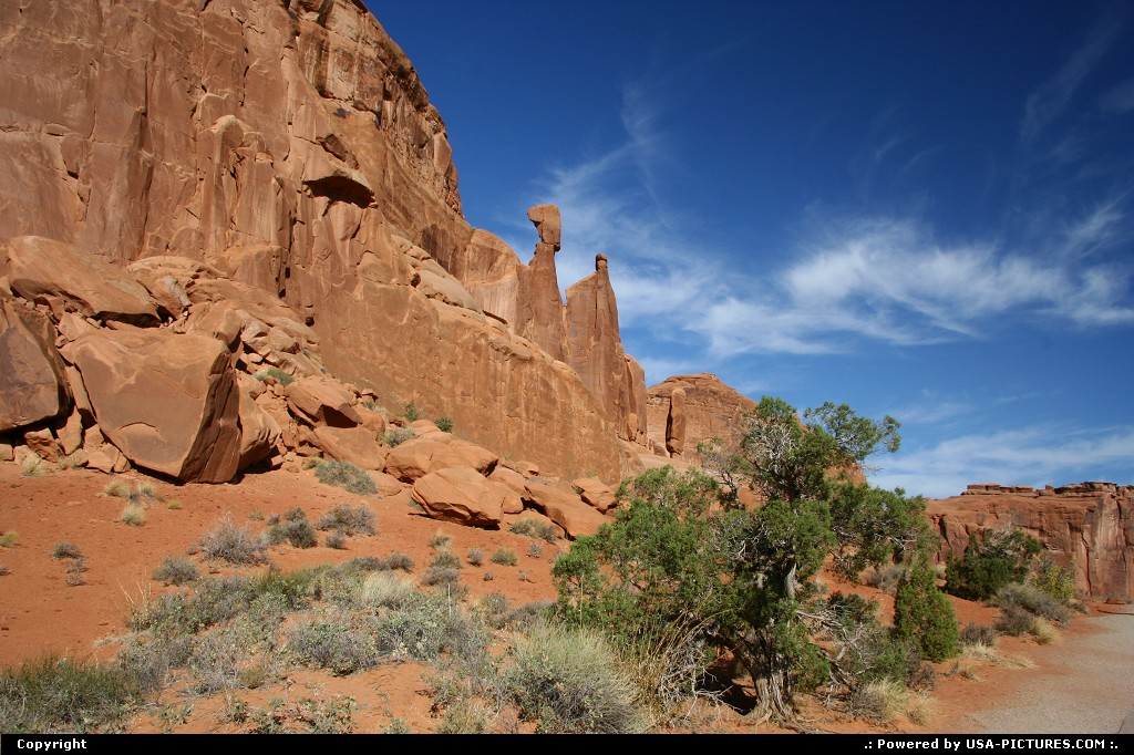 Picture by airtrainer:  Utah Arches Park Avenue Park Avenue