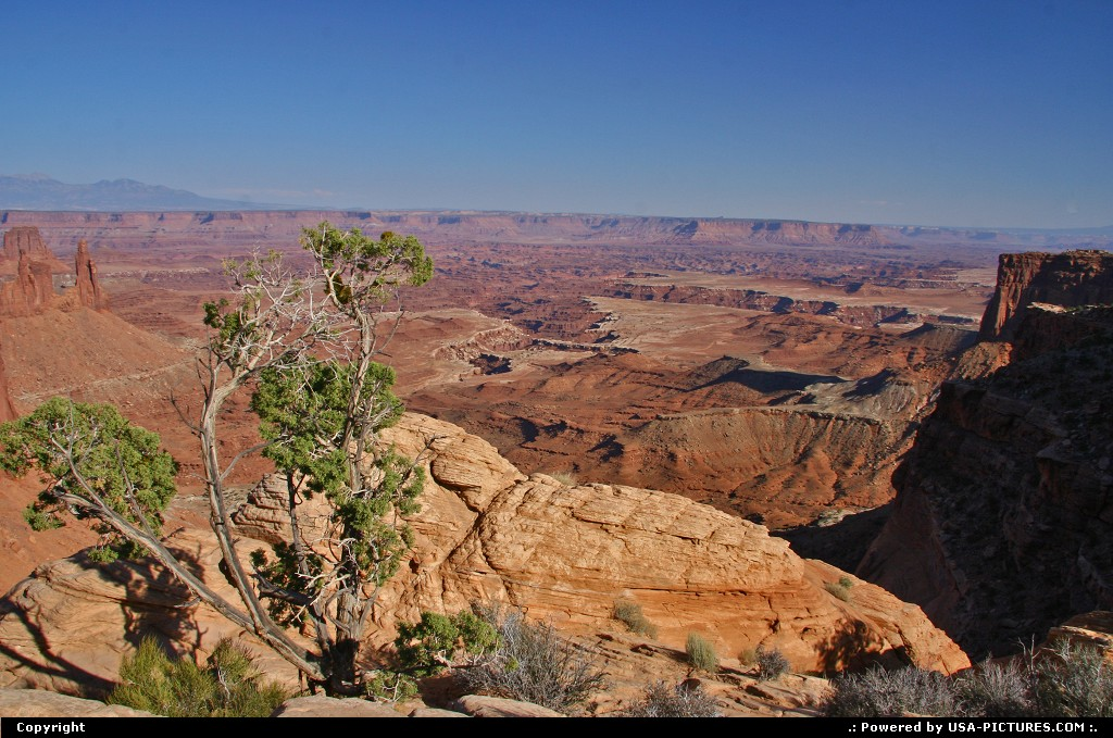 Picture by airtrainer:  Utah Canyonlands  mesa arch, canyonlands
