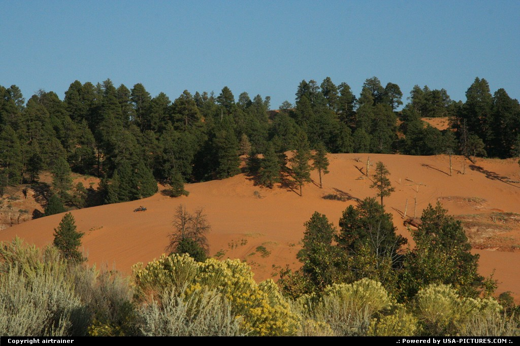 Picture by airtrainer: Not in a City Utah   coral pink sand dunes