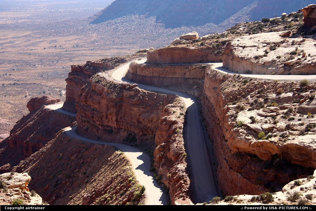 Picture by airtrainer: Not in a City Utah   mocky dugway, road