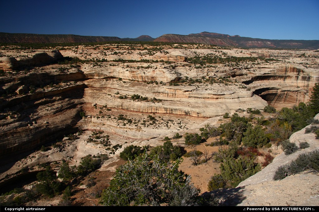 Picture by airtrainer: Not in a City Utah   natural bridges