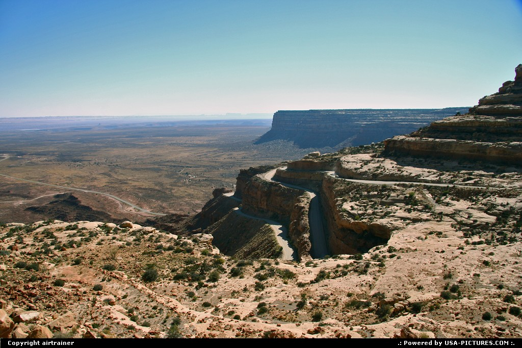 Picture by airtrainer:Not in a CityUtahmocky dugway, road