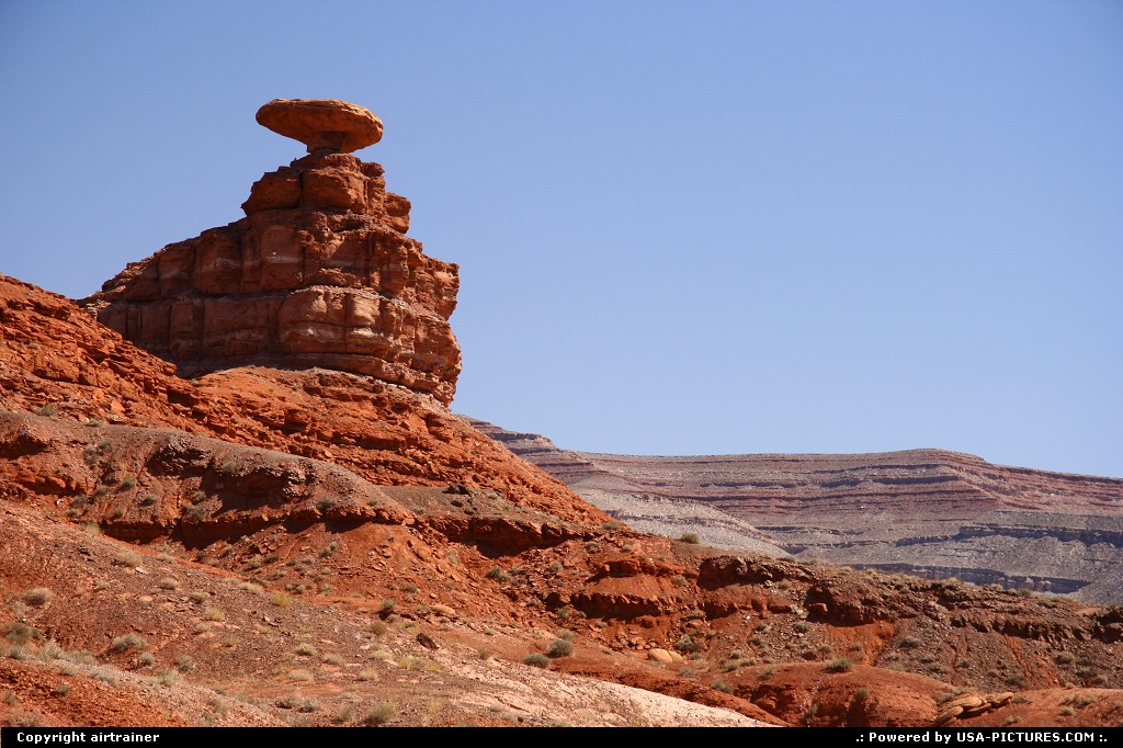 Picture by airtrainer: Not in a City Utah   Mexican hat