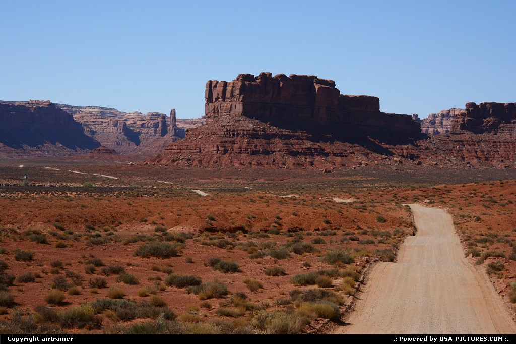 Picture by airtrainer: Not in a City Utah   valley of the gods