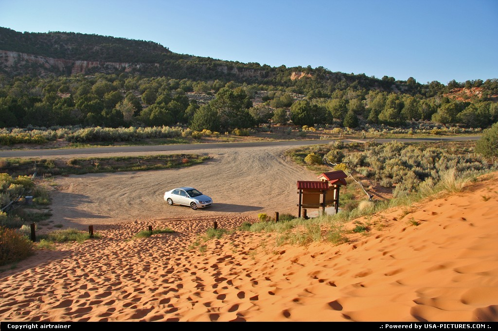 Picture by airtrainer:Not in a CityUtahcoral pink sand dunes