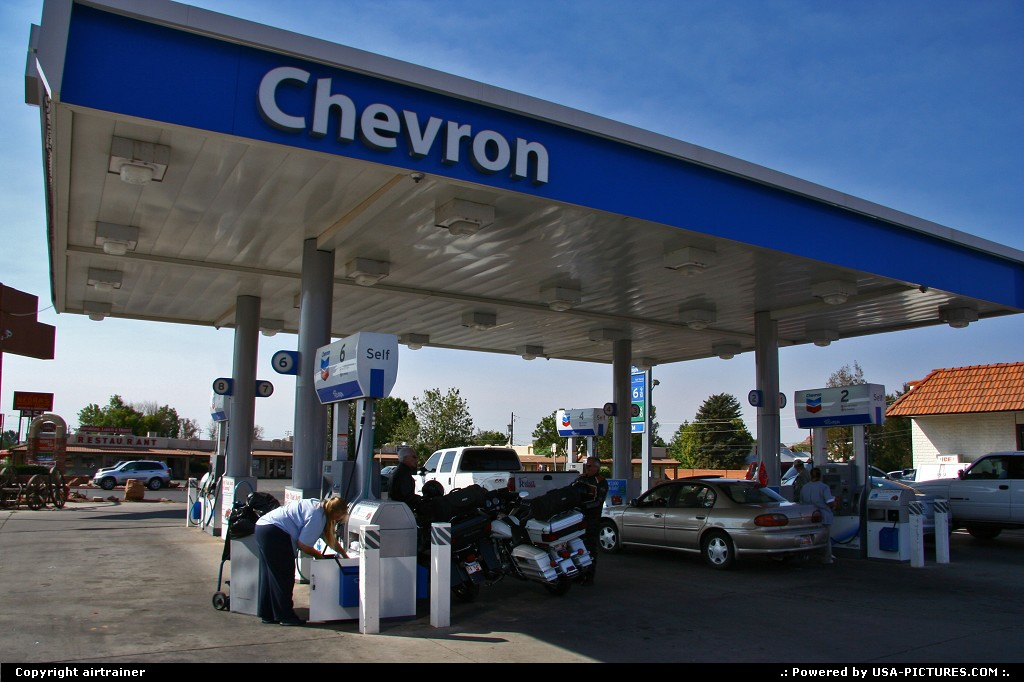 Picture by airtrainer:Not in a CityUtahKanab, gas station