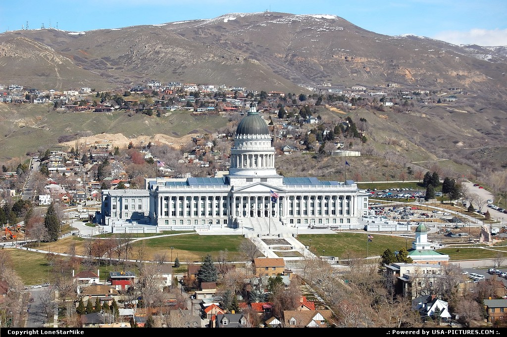 Picture by LoneStarMike: Salt Lake City Utah   capitol