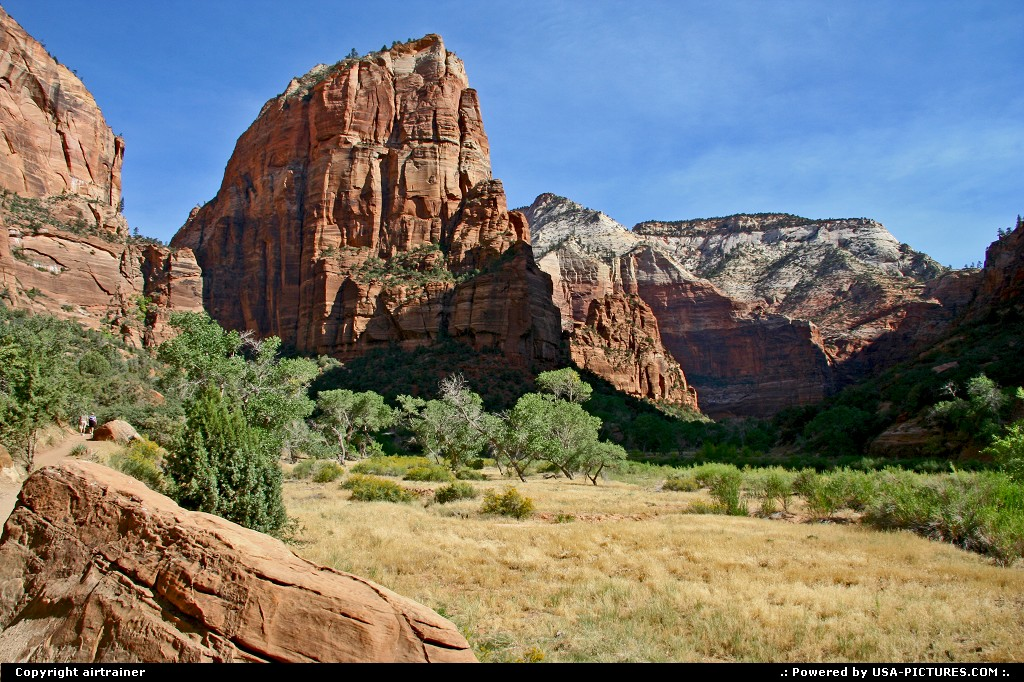 Picture by airtrainer:  Utah Zion Angels Landing zion, angels landing