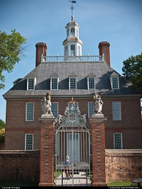 Photo by McMaggie | Williamsburg  Governor's Palace, Colonial Williamsburg, Williamsburg, Virginia, summer, July, living history museum, historic site, historic building, colonial history, living history, Virginia history, history, historic sites