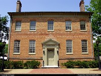 Alumni House, College of William & Mary, Williamsburg, Virginia, USA.