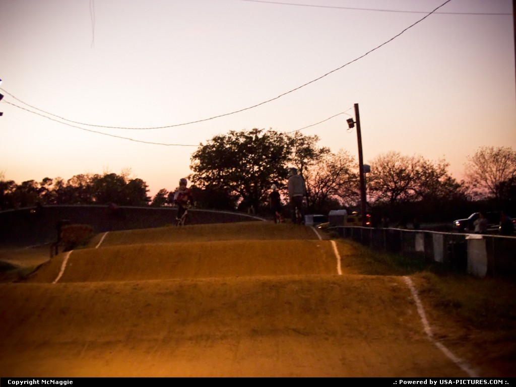 Picture by McMaggie: Hampton Virginia   Hampton, Virginia, BMX, bike track, biking, bicycling, Gosnolds Hope Park, park, recreation, leisure