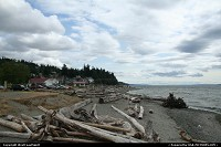 A piece of wilderness, spirit of Washington State. Here in Mukilteo State Park.