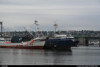 Fishermen's terminal at Seattle
