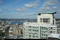 Downtown view of Lake union at Seattle