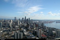 Photo by elki | Seattle  space needle, downtown seattle
